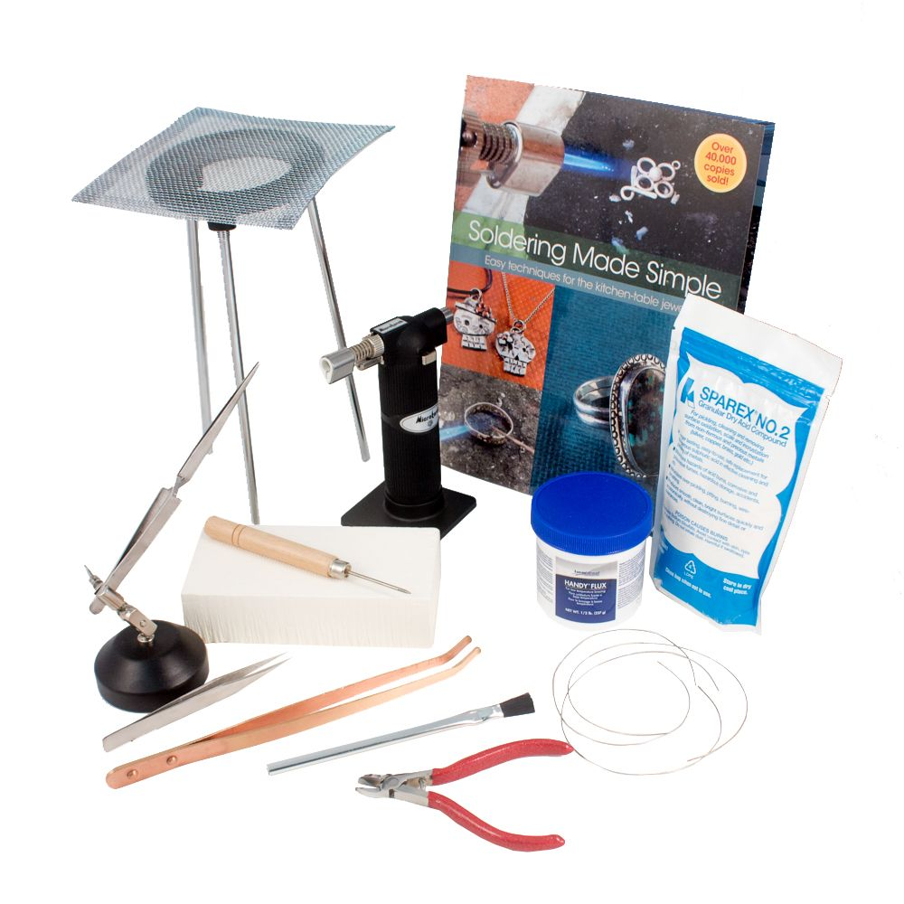 Silver Soldering Kit With Butane Torch Soldering Jewelry Soldering Torch