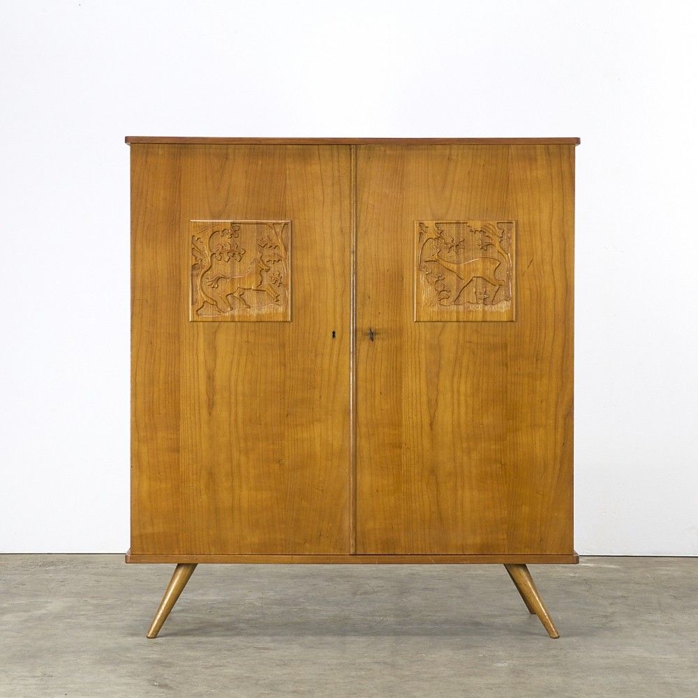 Cabinet from the sixties by louis van teeffelen for wébé furniture