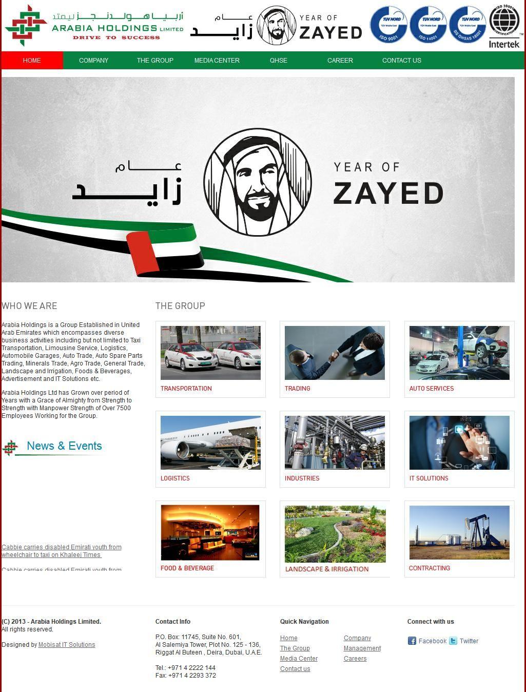 Arabia Holdings, Ltd Al Salemiyah Towers, 12, 6b Street 5