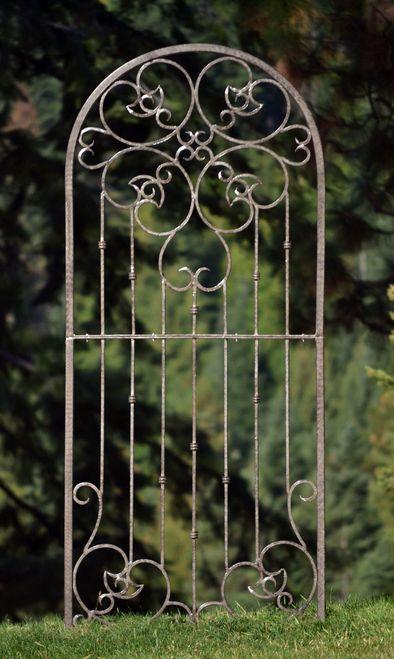 H Potter Large Wrought Iron Ornamental Metal Scroll Garden Trellis