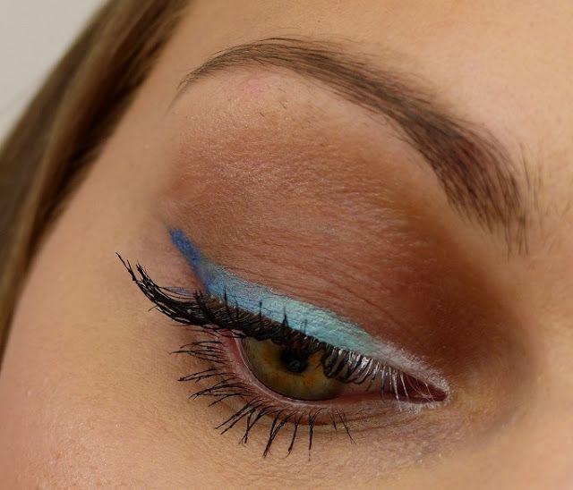 BLOGPARADE: Farbige Eyeliner || Blue Ombre Eyeliner