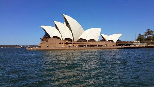 Operah House Sydney Ferry View