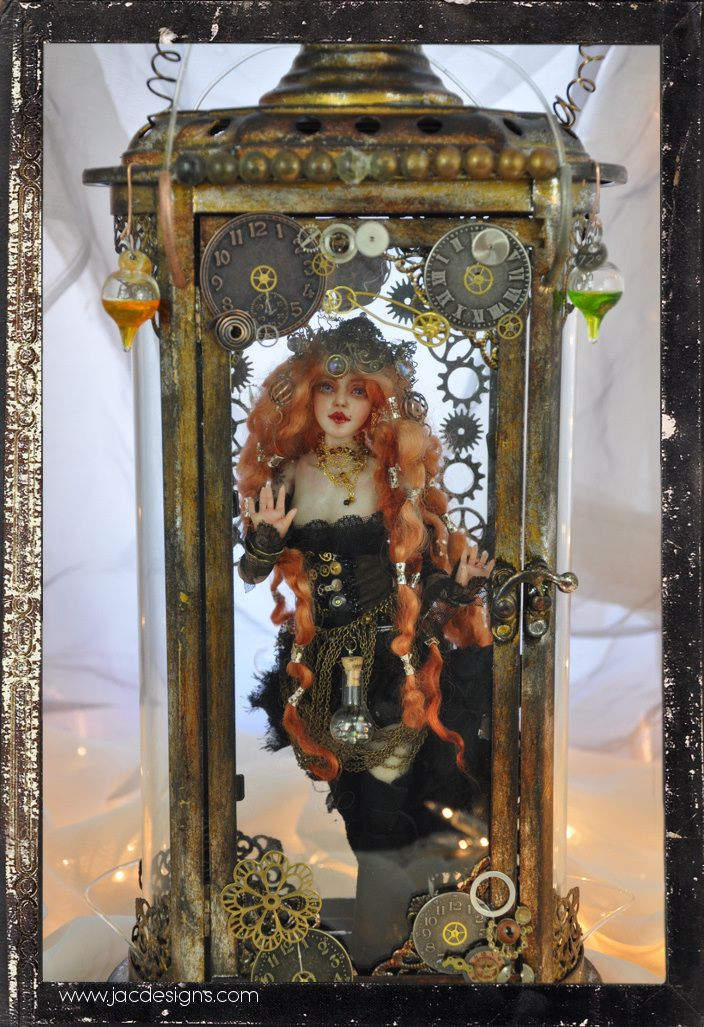 Steampunk Victorian doll Ball jointed ooak by SutherlandArt.deviantart.com on @deviantART