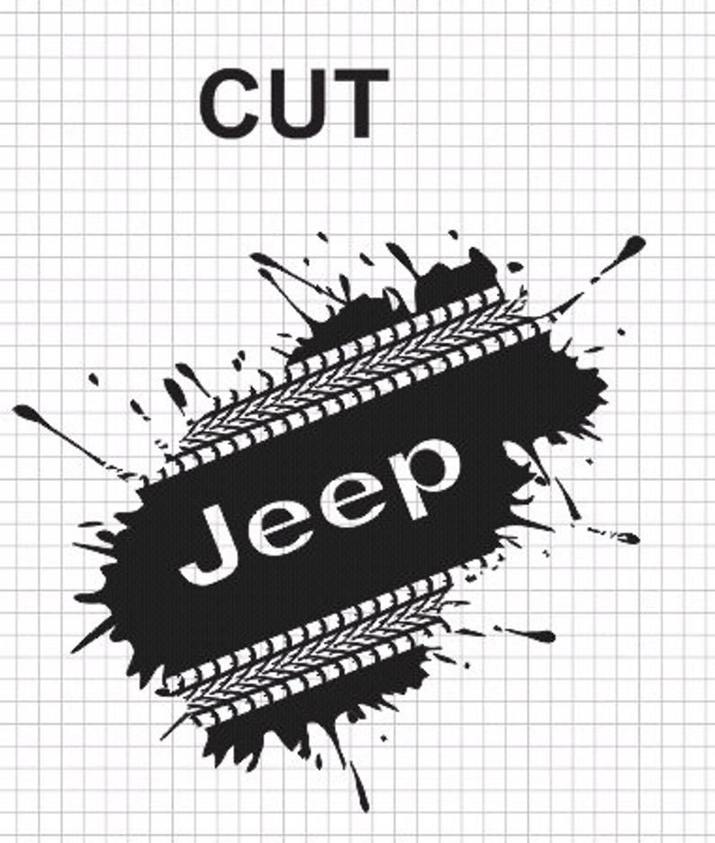 Jeep Track Svg Mud Svg Tire Track Svg Country Road Track Etsy