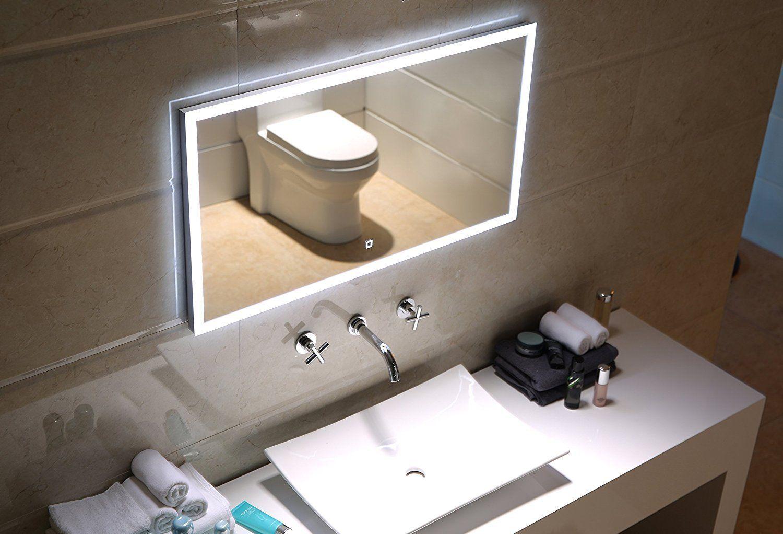 Led Lichtspiegel Dublin Mit Touch Schalter Badezimmer Badspiegel Inneneinrichtung Bathroom Lichtspiegel Lightedmirror Bad Lichtspiegel Led Und Led Licht
