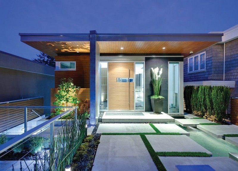 Eingangsbereich Außen Gestalten eingangsbereich gestalten pflastersteine und rasenflaeche