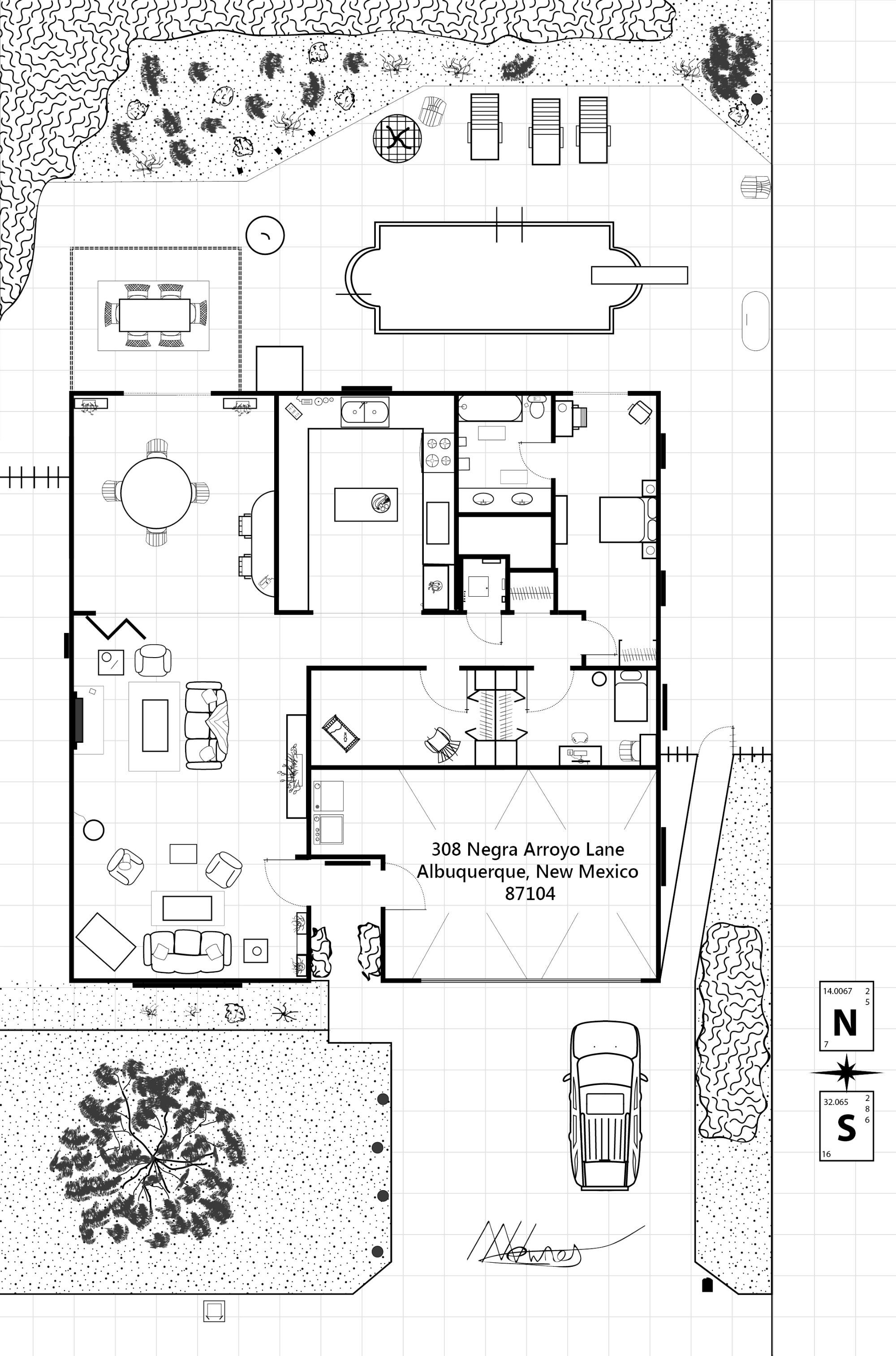Derpsir Of Reddit Drew A Floor Plan Of Walter White S House Love