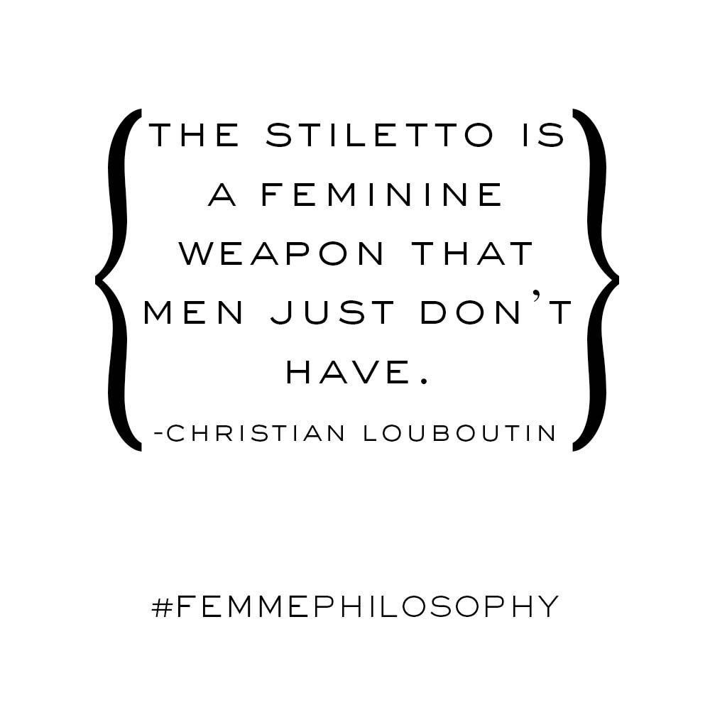 #FEMMEphilosophy
