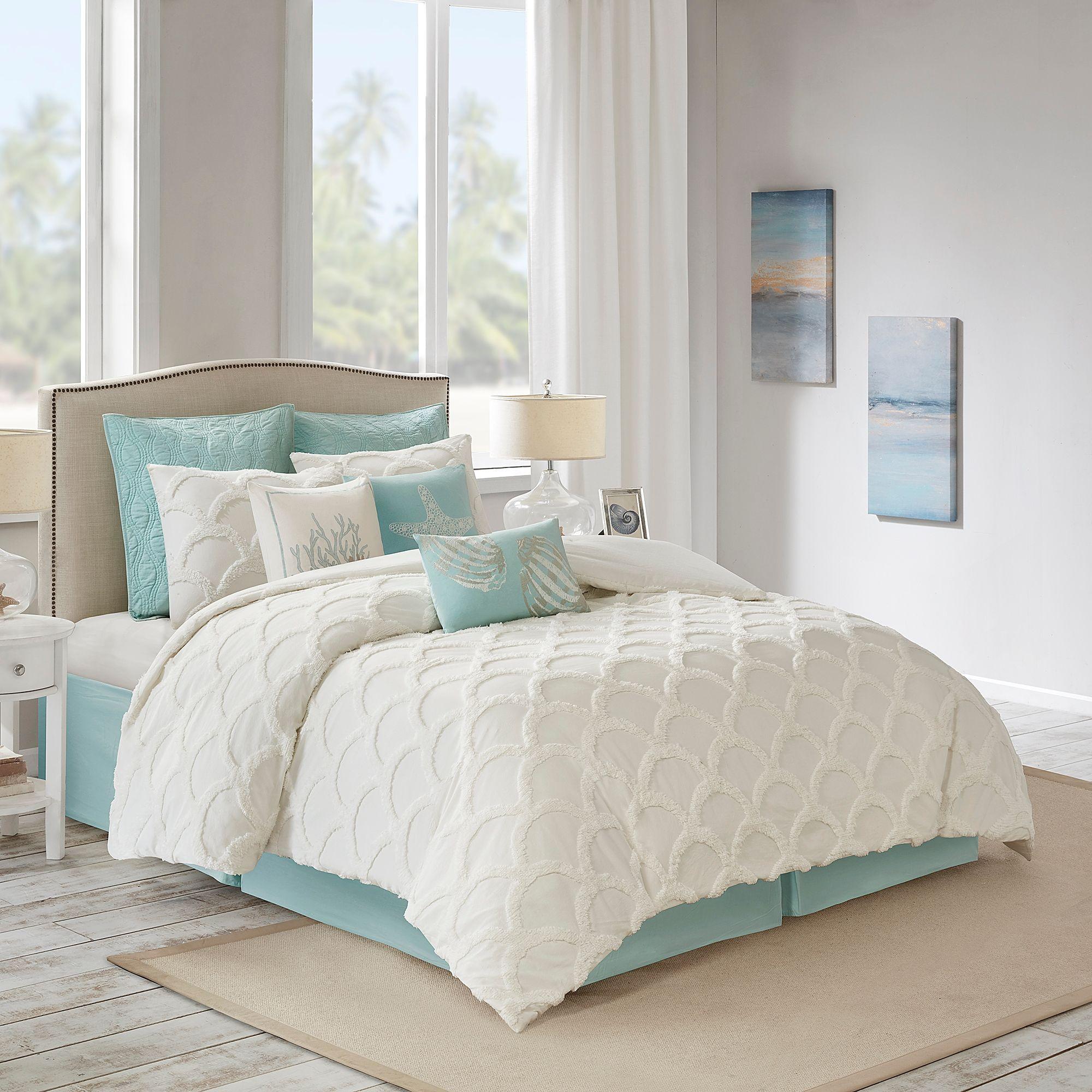 Harbor House Cannon Beach Queen Comforter Set Coastal Bedrooms