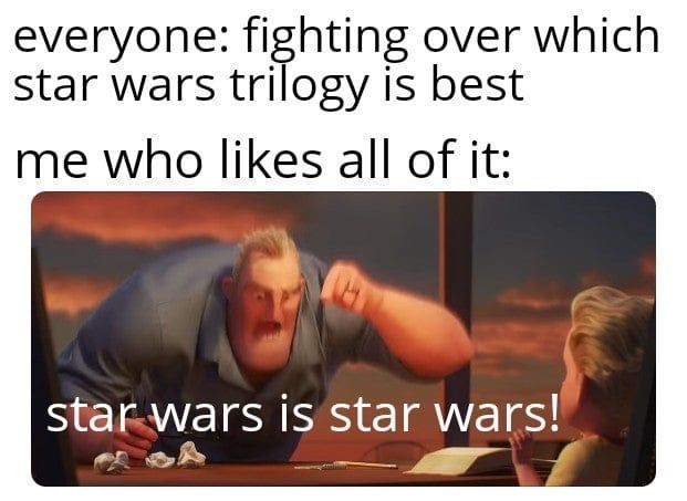 I Honestly Think Clone Wars Is The Best Thing From The Star Wars Franchise Star Wars Humor Star Wars Jokes Funny Star Wars Memes