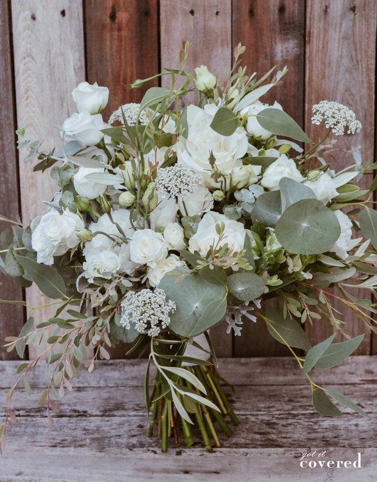 Got It Covered White Foliage Bridal Bouquet Nelson Nz Floral Bridal Bouquet Floral Wreath