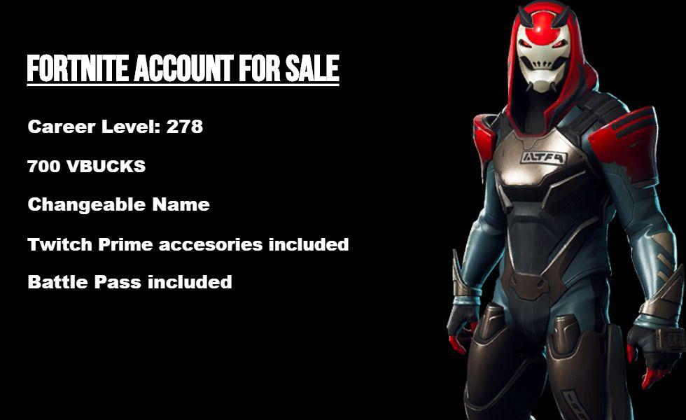 Fortnite Account For Sale Fortnite Fortnitebattleroyale Live