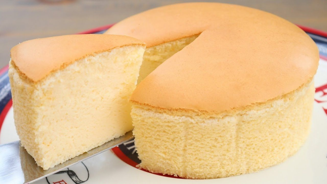 Wondrous Fluffy Jiggly Japanese Cheesecake Recipe Japanese Cheesecake Funny Birthday Cards Online Overcheapnameinfo