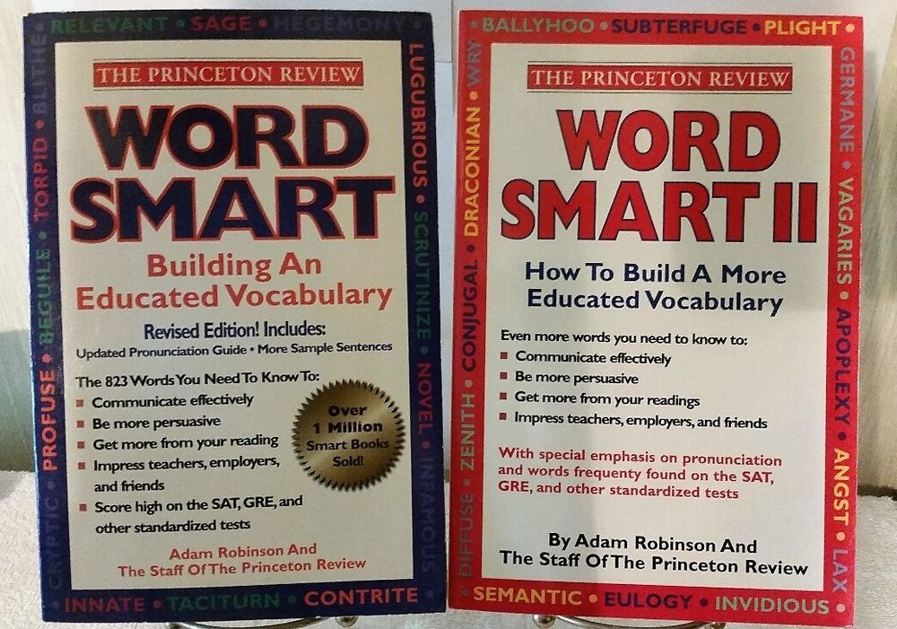Princeton Reviews Word Smart Book