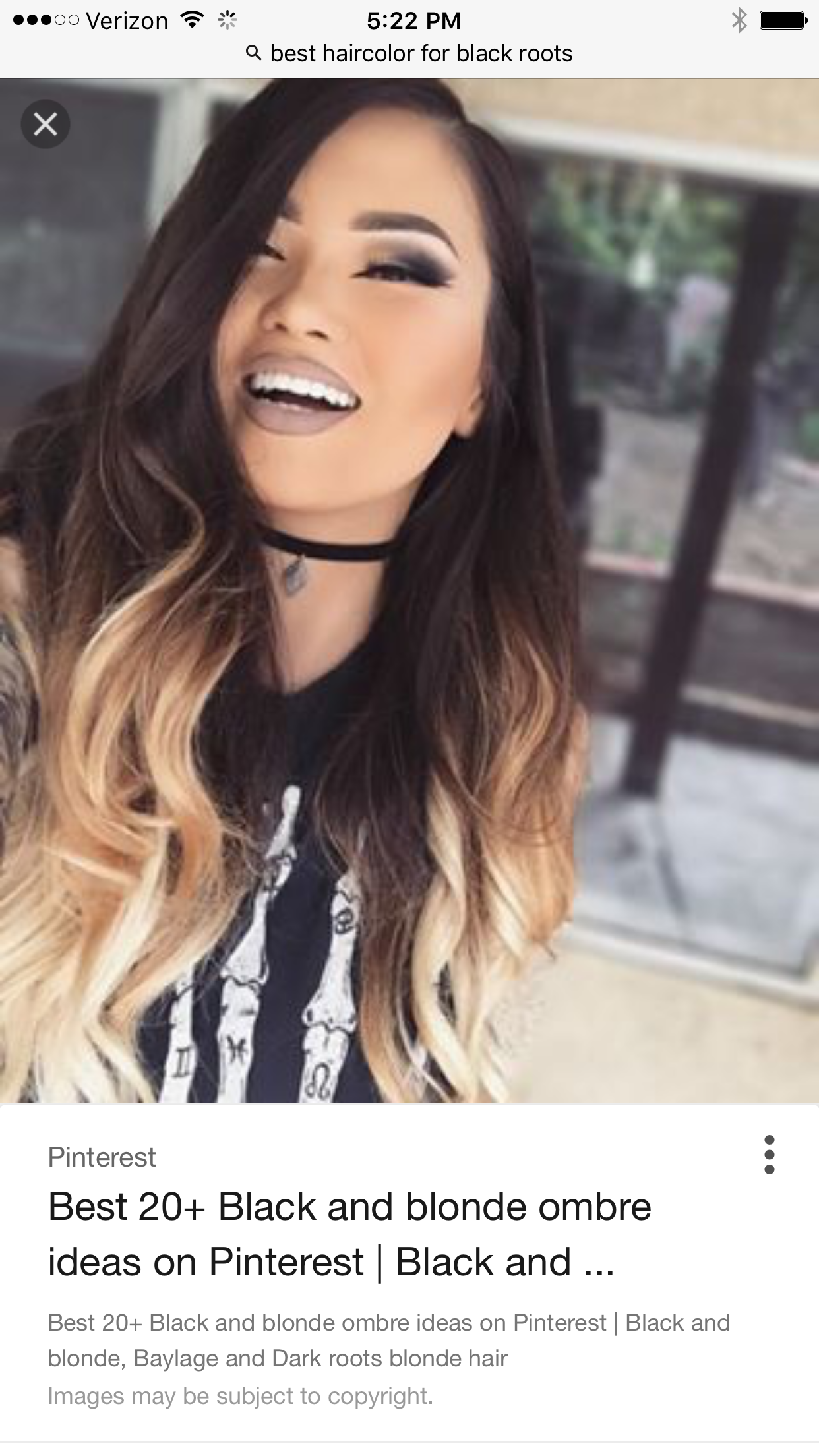 Contrast colour ideas new hair in pinterest hair ombre