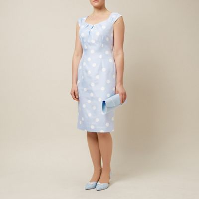 Jacques Vert Spot print shift- at Debenhams.com