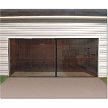 Ideaworks Jb4869 Double Car Garage Screen Enclosure Door Walmart Com Garage Screen Door Double Garage Door Garage Doors