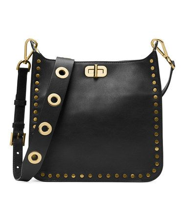 d3c5dd7a56804f Black Jenkins Leather Messenger Bag #zulily #zulilyfinds. Black Jenkins  Leather Messenger Bag #zulily #zulilyfinds Dillards Purses, Michael Kors ...
