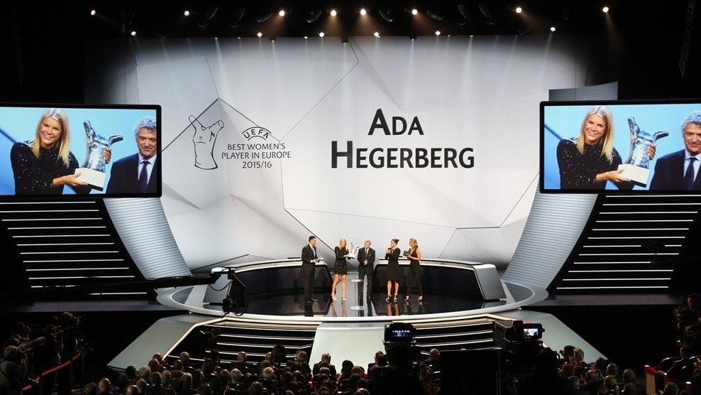 Ada Hegerberg (UEFA Champions League group stage draw)