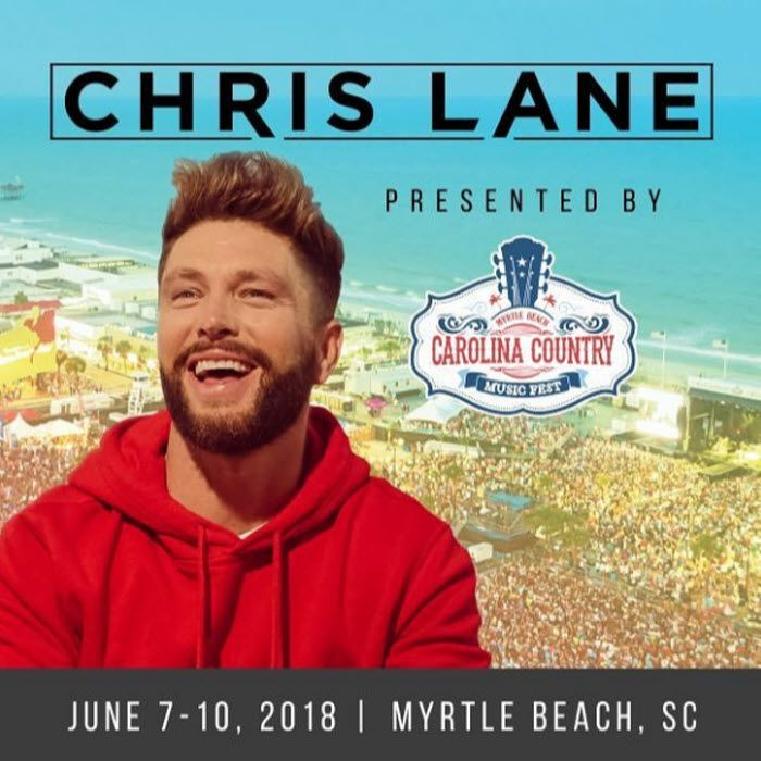 Myrtle Beach Country Music Festival 2020.Chris Lane Has Been Added To The Lineup Of Entertainers For