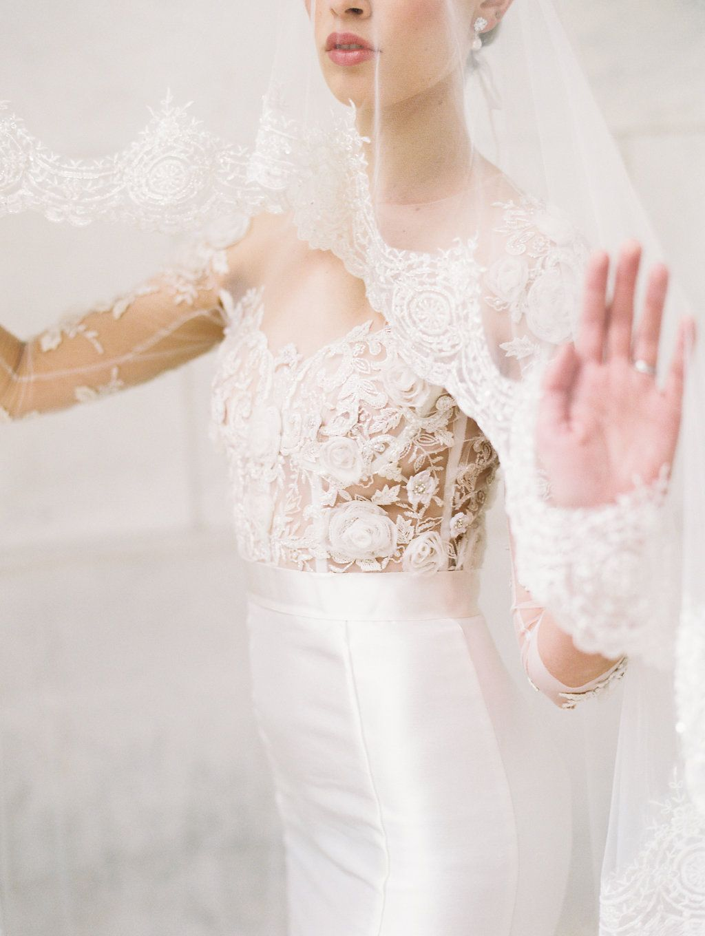 Parisian Inspired Couture Fashion With Marchesa In New York City East Made Co Parisian Wedding Dress Wedding Dress Companies Wedding Dress Preservation