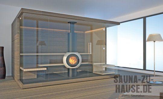 Saunalux-Sauna-Nussbaum-Hol Sauna Pinterest Saunas