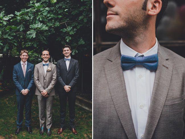 2014 Wedding Trends | Blue Weddings | Blue Wedding Inspiration | Blue Bow-Tie