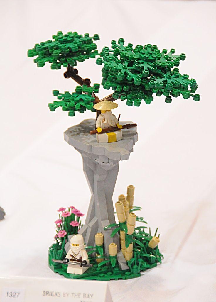 lego ninjago and trees herr und frau klein basteln pinterest lego ideen lego und lego bauen. Black Bedroom Furniture Sets. Home Design Ideas