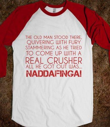 NADDAFINGA #christmasstory #funny #christmasmovie #movie #christmasstorymovie #holiday #gift #shirt