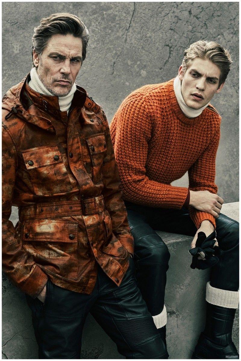 Belstaff Fall/Winter 2015 Menswear Collection is Moto Chic
