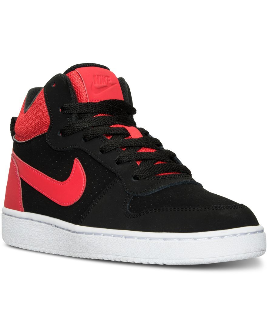36f4679334d Bring some classic basketball style to your look with the Nike Big Boys  Court  Borough