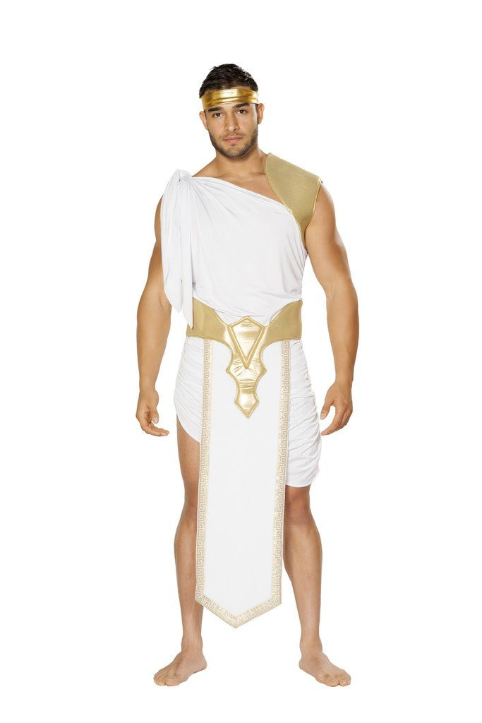 28ac71677 Men's Greek God Costume | Men's Costumes | Greek god costume, Toga ...
