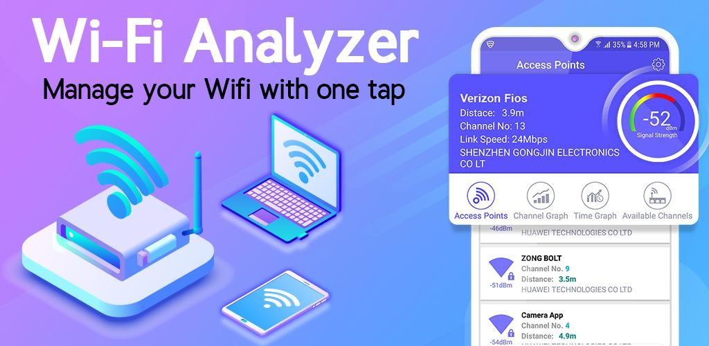 NET SHIELD - WiFi Analyzer, Internet Speed Test   Android