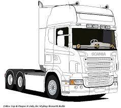 Afbeeldingsresultaat Voor Scania R Tekening Com Imagens