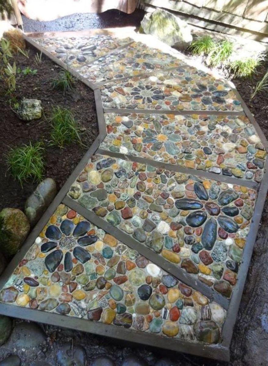 Photo of 17 Cheap DIY Garden Paths Design Ideas