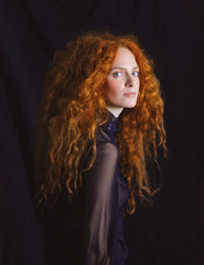 Redhead israeli model