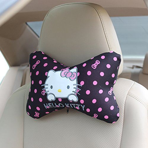 hello kitty car headrest pillow car