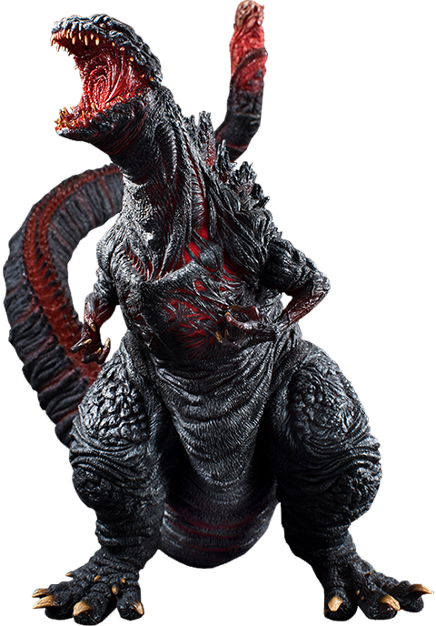 Shin Godzilla Collectible Figure From Art Spirits Sideshow Collectibles Godzilla Monster Pictures Sculpting