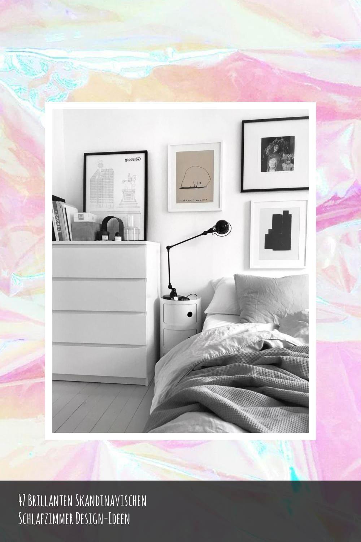 47 Brillanten Skandinavischen Schlafzimmer Design Ideen In 2020 Skandinavisches Schlafzimmer Schlafzimmer Design Design Ideen