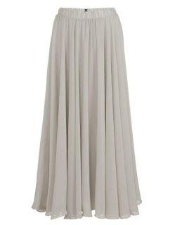 49fa664fa como hacer falda larga plato | Vestidos | Polleras largas, Como ...
