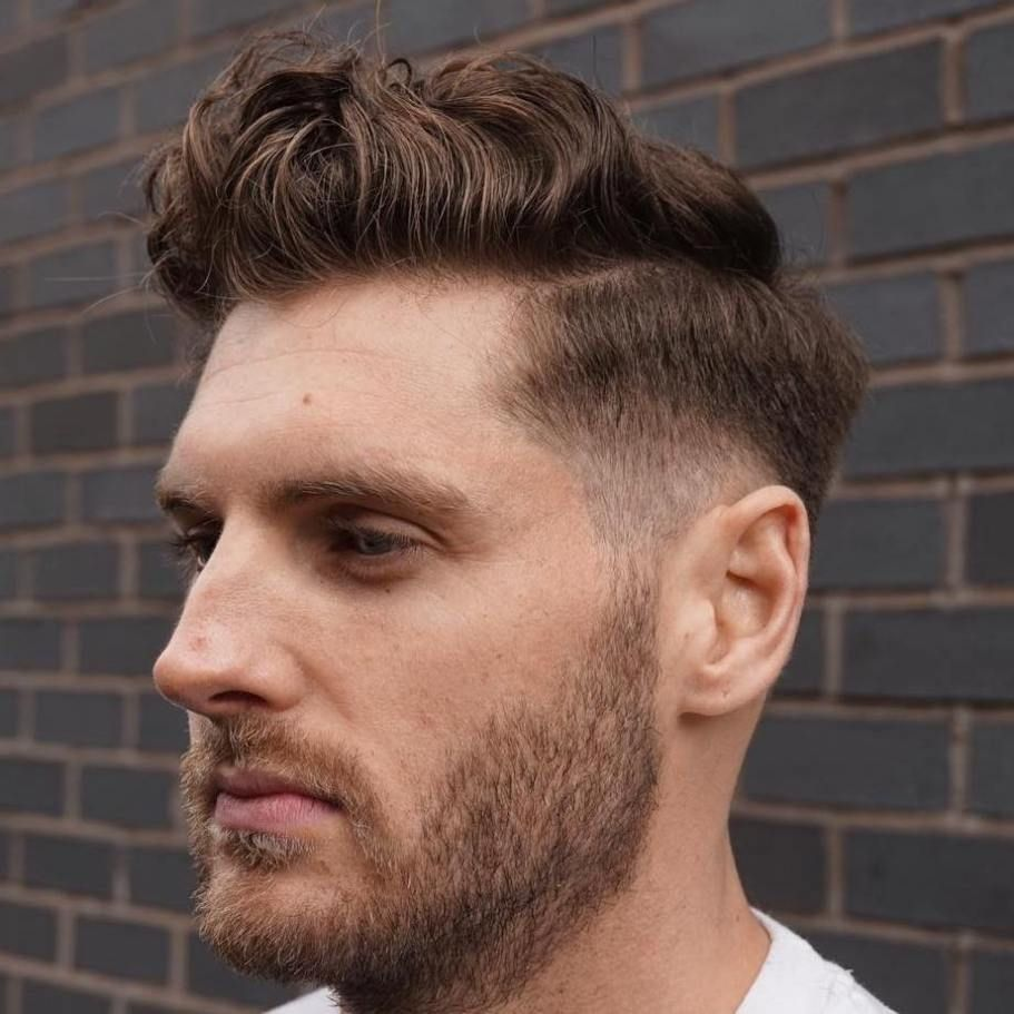 40 Totally Rad Pompadour Hairstyles Curly Hair Styles Pompadour Hairstyle Undercut Pompadour
