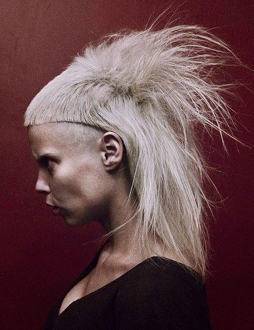 Yolandi Visser Of Die Antwoord Crazy Hair