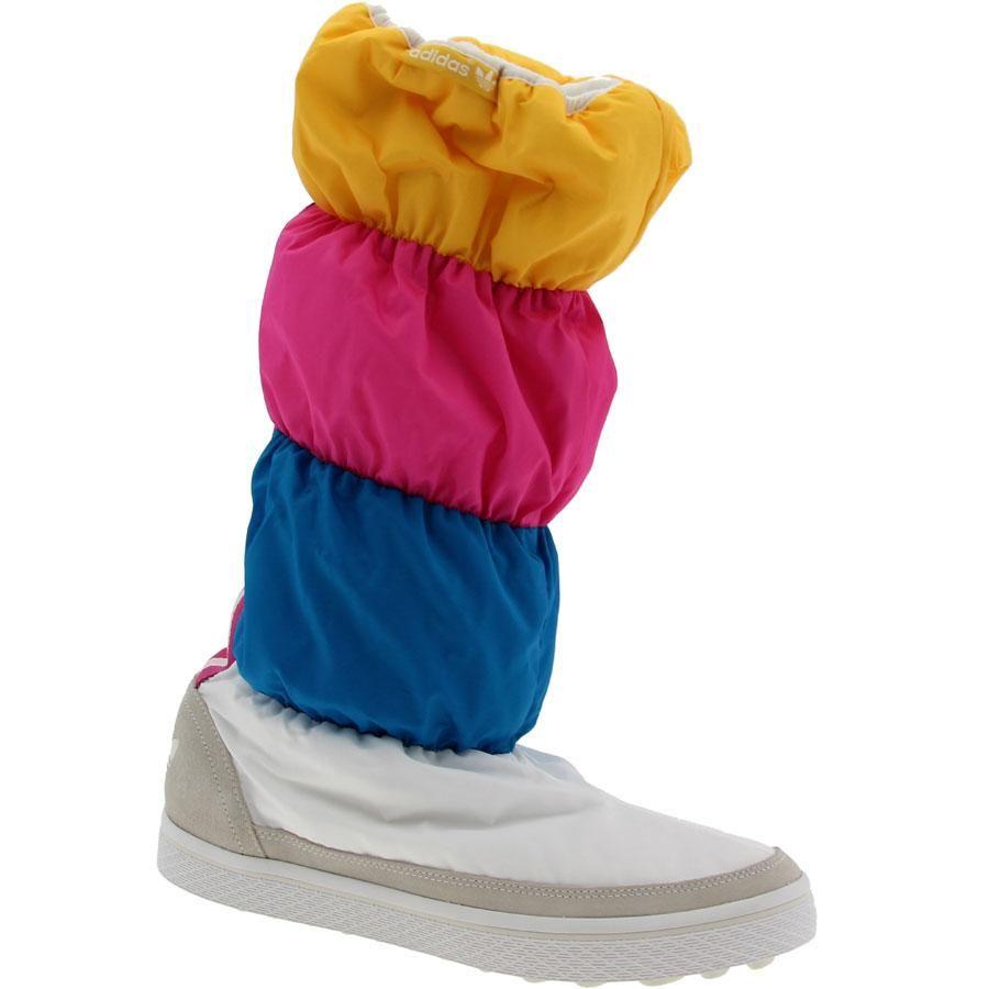 Adidas WMNS Adiwinter Boot Sha Blue Pink Sunshine (G51406)