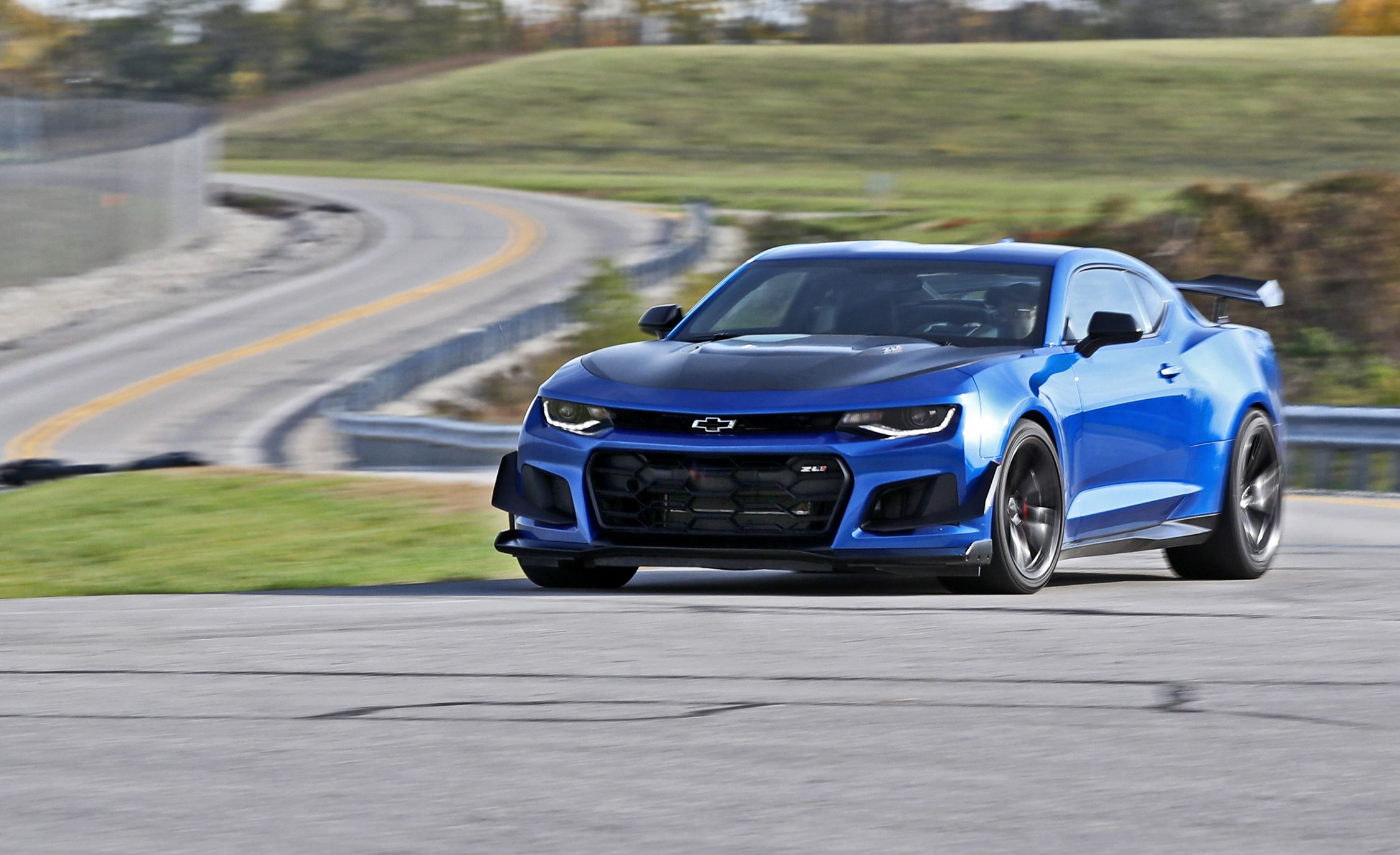 2018 Chevy Camaro Blue With Best Offer Price At Chevrolet