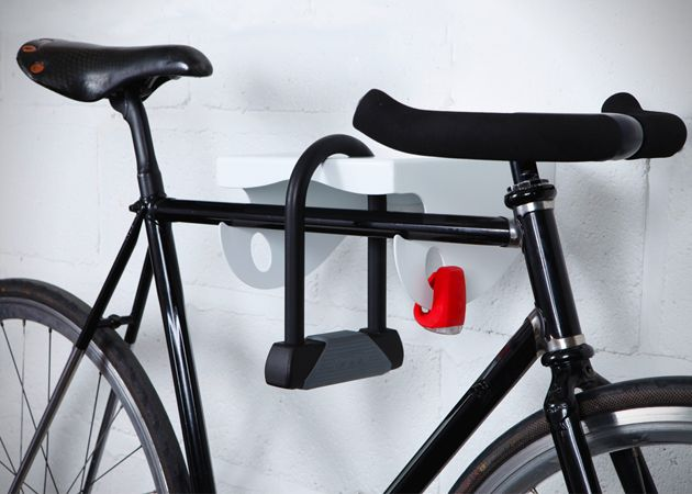 Apartment Building Bike Rack mama wall mounted bike rack designedmatt elton | bikes at home