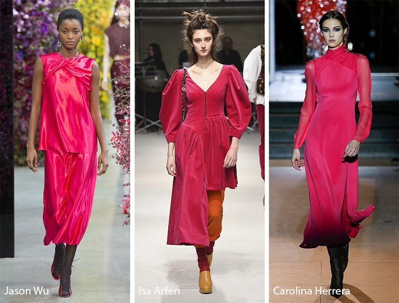 Fall/ Winter 2018-2019 Color Trends: Pink Peacock ...