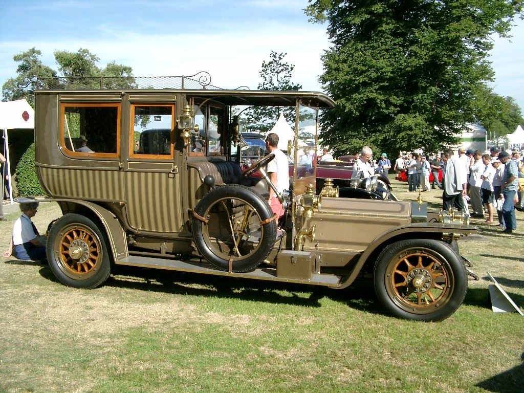 Image result for 1910 rolls royce silver ghost
