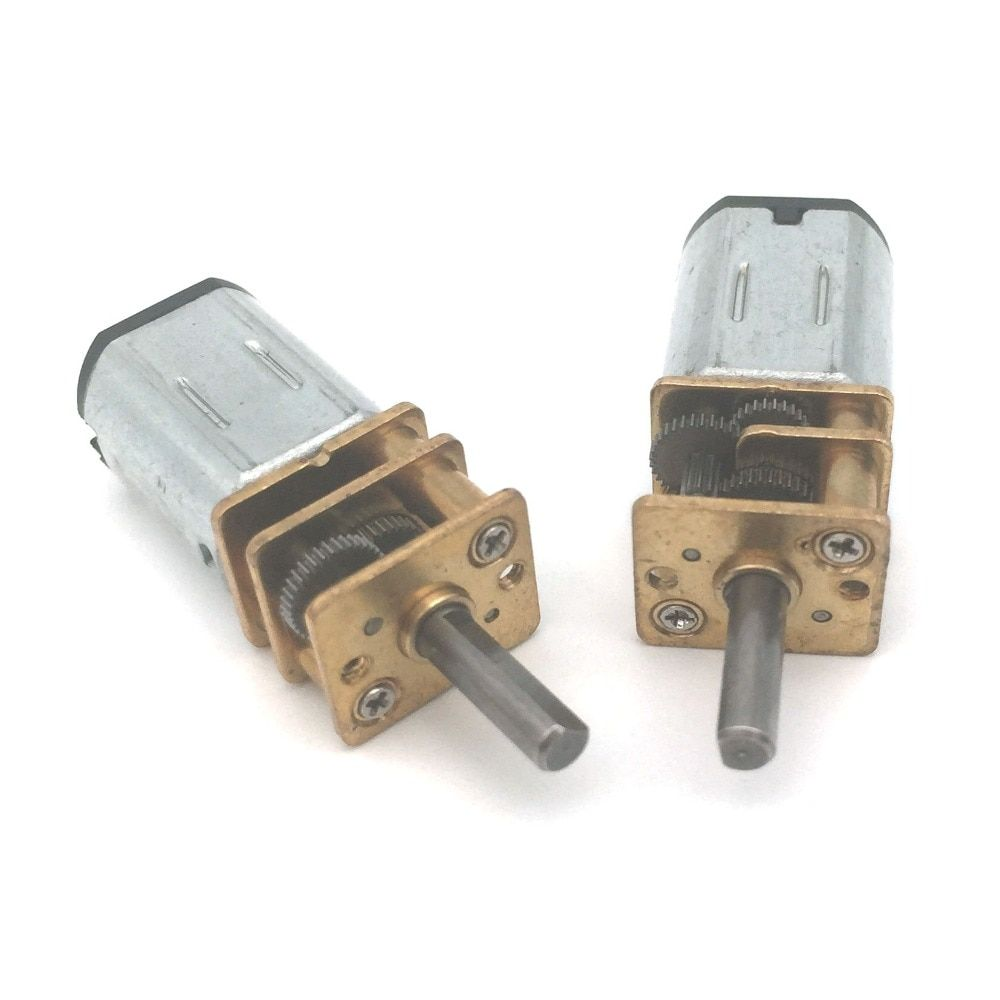 500RPM/1000RPM N20 Micro Speed Gear Motor DC 6V 12V Electric