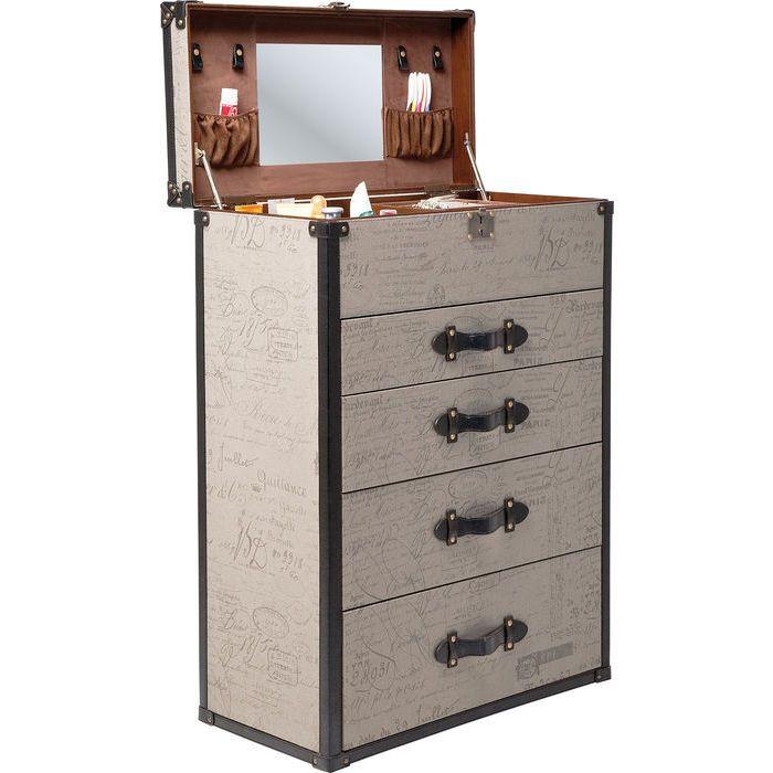 89dacf664e Dresser Vintage Make Up 4 Drawers - KARE Design Seattle