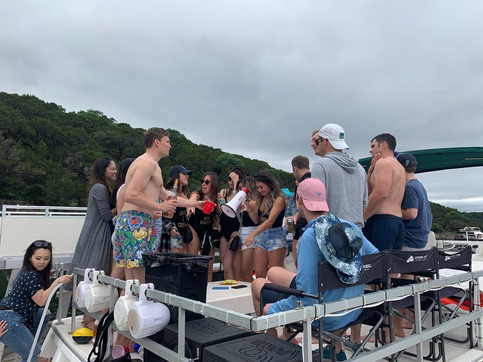 Bachelorette bachelor party image by lake travis yacht